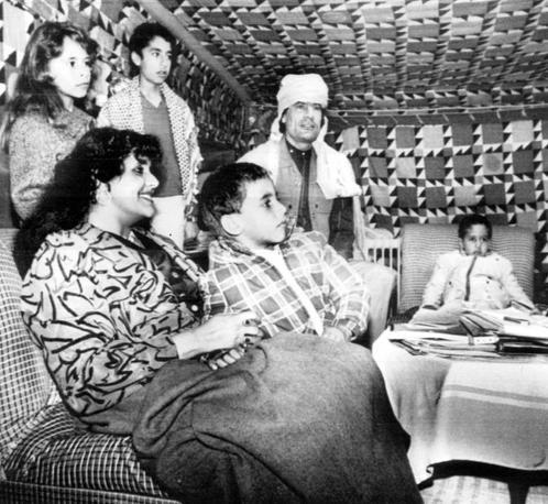 Foto di famiglia del 1986 (Ansa)