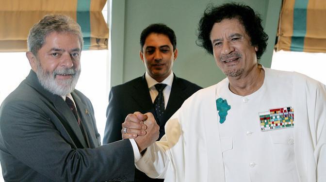 Con il presidente brasiliano Lula da Silva nel 2006 (Reuters)