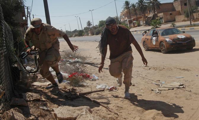 La battaglia nella città di Maya (Reuters)