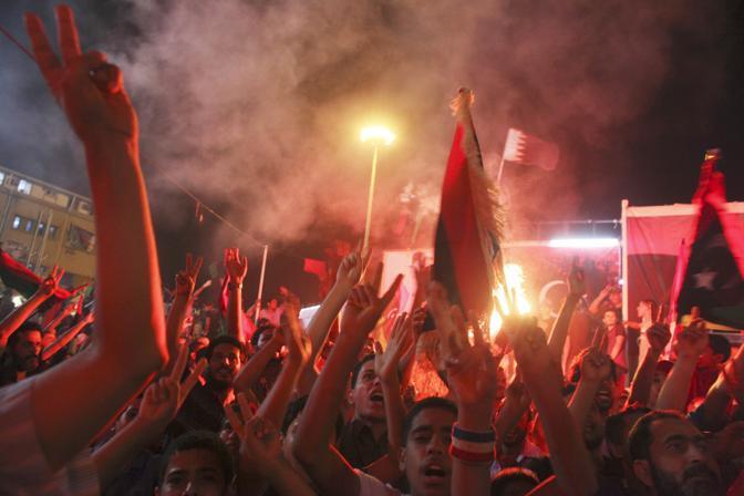 La festa a Bengazi (Ap)