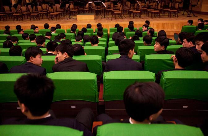 Auditorium a Pyongyang  (Ap)