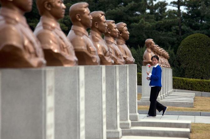 Memoriale a Pyongyang (Ap)