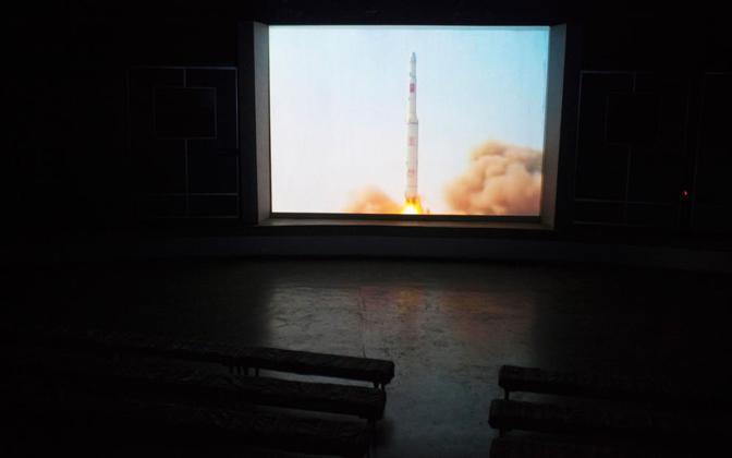 Il video di un missile (Ap)