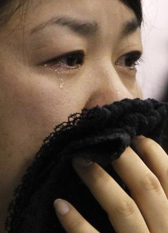 Lacrime a Miyagi (Reuters)