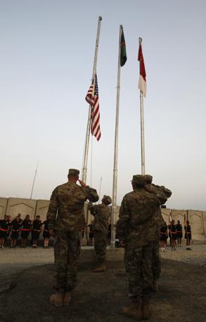 Ancora un'immagine di soldati americani  a Nangarhar, in Afghanistan (Reuters)
