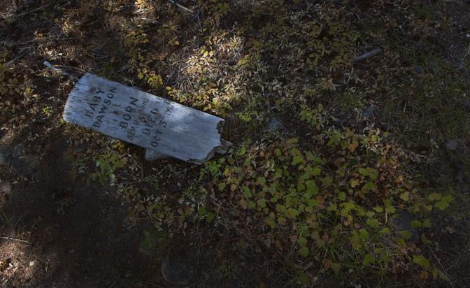 British Columbia, Canada: ecco ci� che rimane della citt� fantasma di Cody, un tempo attivo centro minerario per l'estrazione del rame (Reuters)