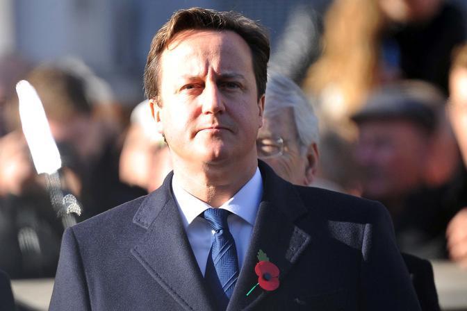 Il primo ministro David Cameron (Olycom)