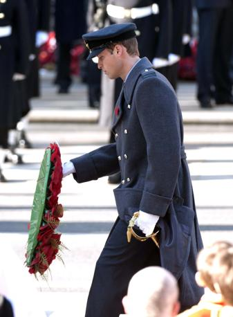 Il principe William (Olycom)