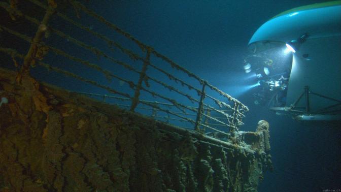 In Visita Al Titanic Per Il Centenario