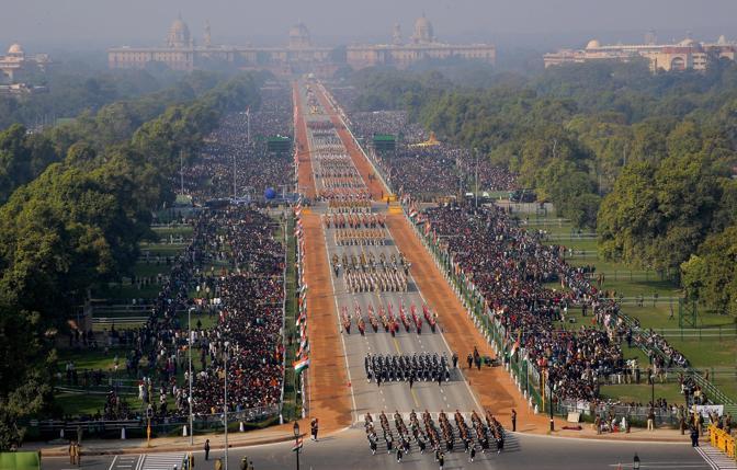 In India festeggiamenti per l'anniversario della Repubblica (Republic Day) (Ap)