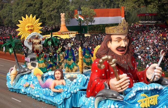 Rappresentanti dello Stato di Goa (Epa)