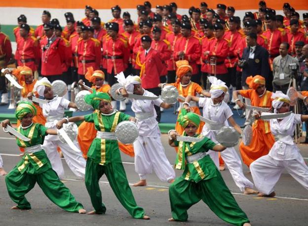 Danza tradizionale (Epa)
