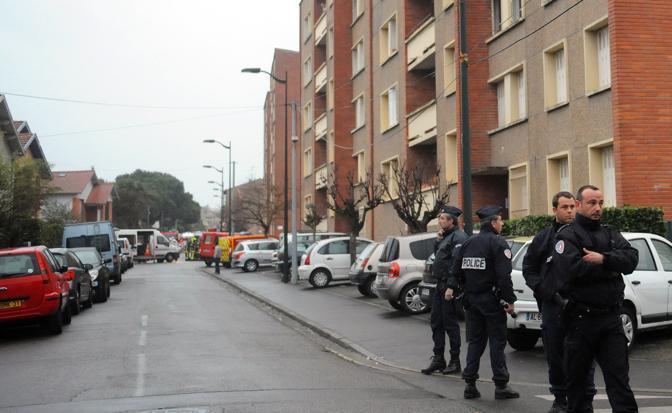 Il palazzo Belle Paule dove vive il sospetto delle stragi (Afp/Rémy Gabalda)