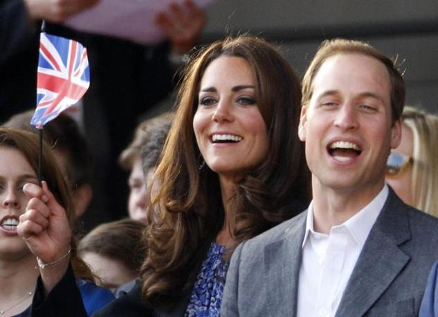 Kate e William tra il pubblico (Reuters)