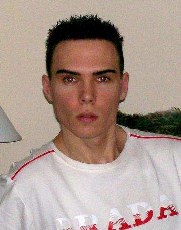 Una fotografia di Luka Rocca Magnotta del dipartimento di Polizia di Montreal (Afp)