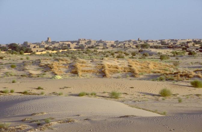 Una veduta d'insieme di Timbuctù (Ansa)