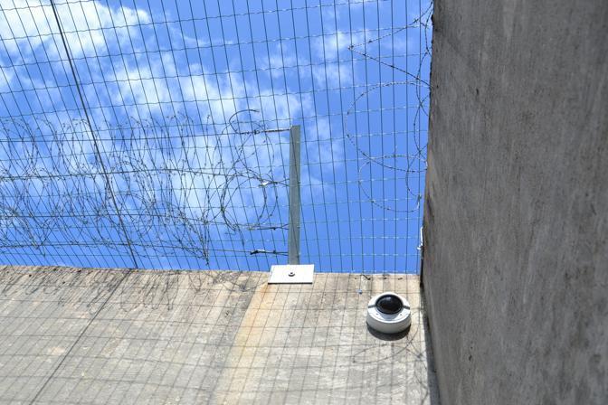 Il cortile della cella di Breivik nella prigione di Ila (Ap/Glefs)