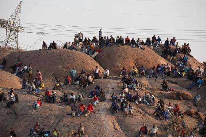 La miniera di Marikana è situata a 100 km a nord di Johannesburg (Ap)