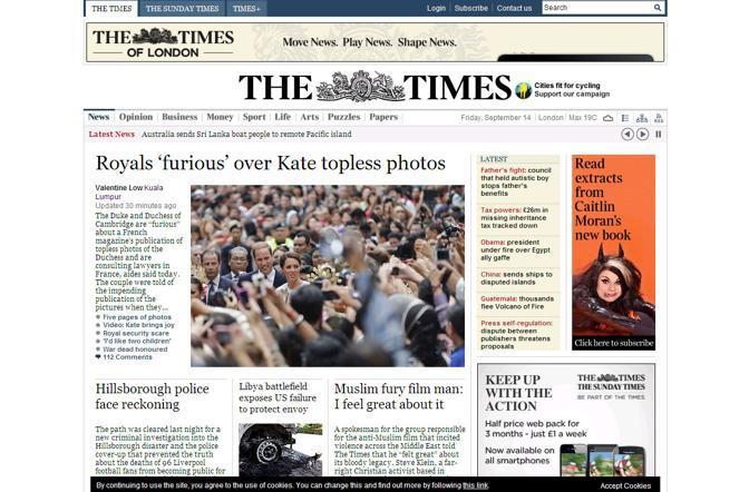 Il Times di Londra
