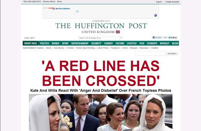 L'Huffington Post britannico