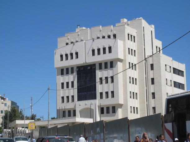 Ramallah, uno dei tanti nuovi palazzi (foto M.Caprara)