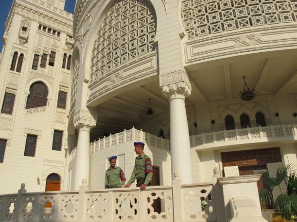 Il Cairo, palazzo presidenziale El Tahadeia (foto M. Caprara)