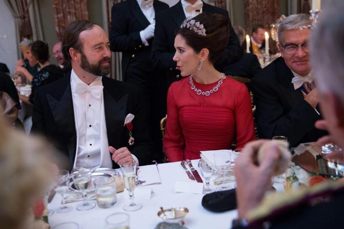 Il conte Christian de Lannoy e la principessa Mary di Danimarca  (Epa/Grand-Ducal Court/Guy Wolff)