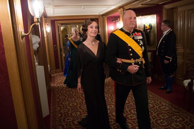 Il re Harald V di Norvegia (Epa/Grand-Ducal Court/Guy Wolff)