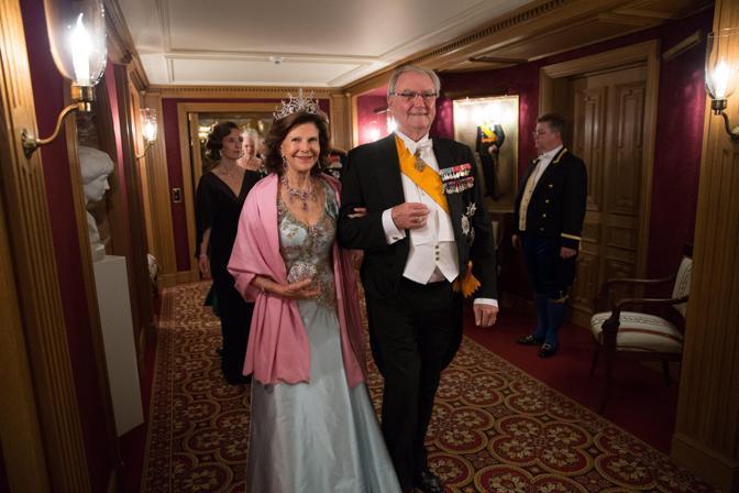 La regina Silvia di Svezia e il principe consorte di Danimarca (Epa/Grand-Ducal Court/Guy Wolff)