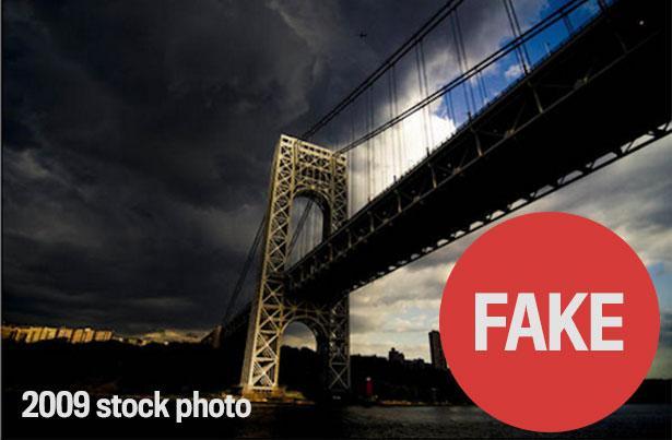L'immagine che spopola su Twitter è in realtà ripresa dall'archivio fotografico dell'agenzia Getty e risale al 2009