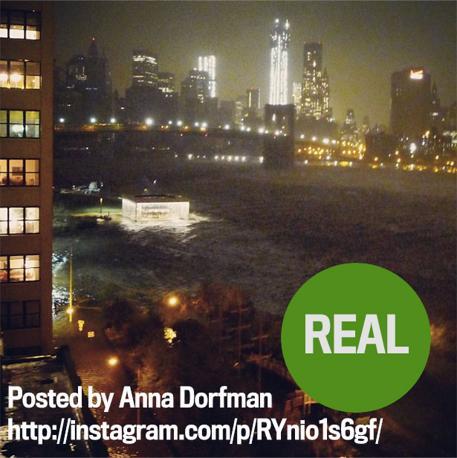 Un quartiere a New York sott'acqua, la foto - purtroppo - è vera