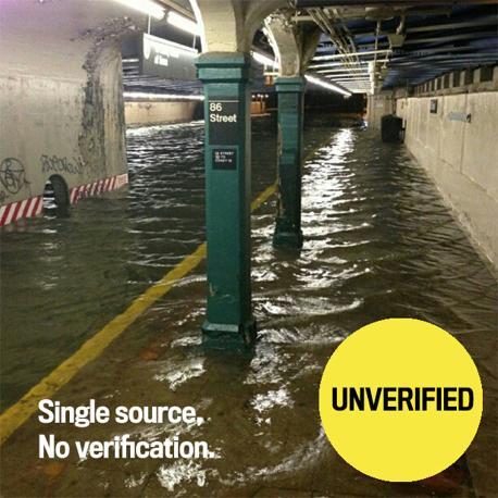 Dubbi sulla metro allagata a 86th Street Station, Brooklyn