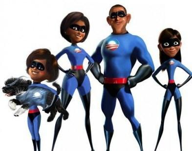 La first Family in versione cartoon