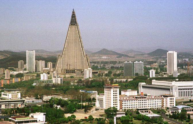 Il Ryugyong Hotel (Reuters)