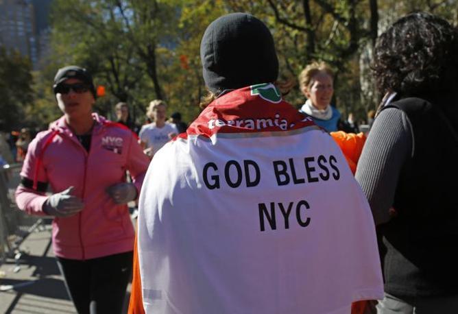«Dio benedica New York» (Reuters/East)