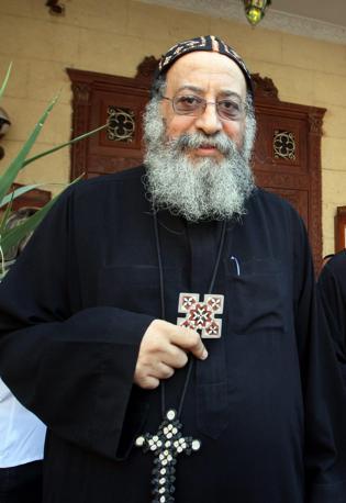 Il vescovo Tawadros, nuovo papa copto ortodosso (Epa)