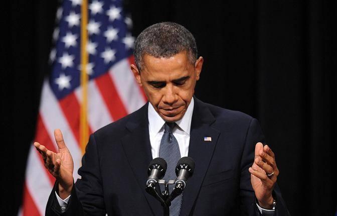 Il presidente Obama ha parlato di fede e di amore, affermando che il modo in cui la comunità della cittadina ha reagito all'orrore è fonte di «ispirazione»