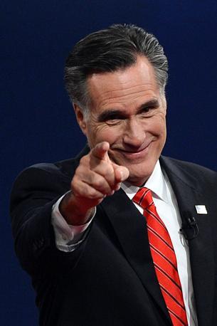 Il candidato repubblicano Mitt Romney (Afp)