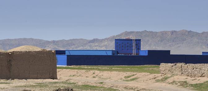 Gli studi 2A+P/A, Mario Cutuli Architetto, IaN+ e ma0/emmeazero hanno firmato insieme la scuola elementare «Maria Grazia Cutuli» nel villaggio di Kush Rod in Afghanistan