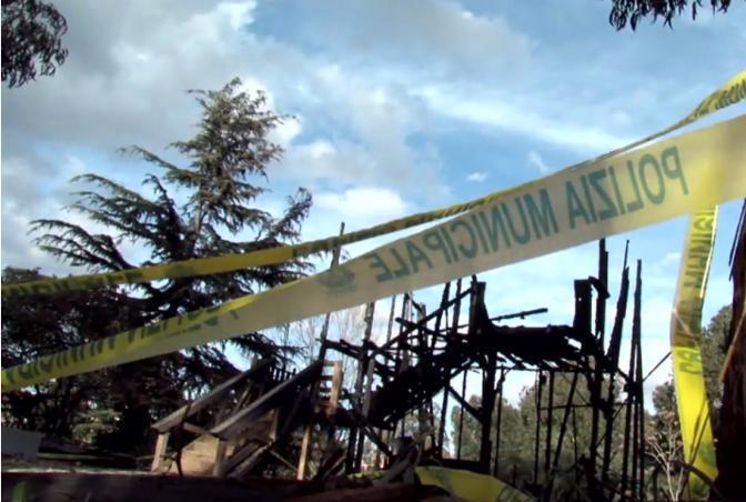 La Savorengo Ker, «la casa di tutti» nel campo Rom del Casilino, distrutta da un incendio