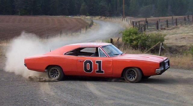 La Dodge Charger  è il «Generale Lee» dei cugini Duke della serie tv «Hazzard»