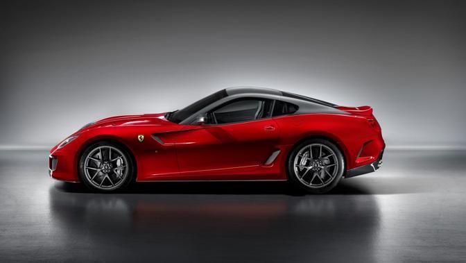 Il profilo della 599 GTO. Sarà prodotta in soli 599 esemplari