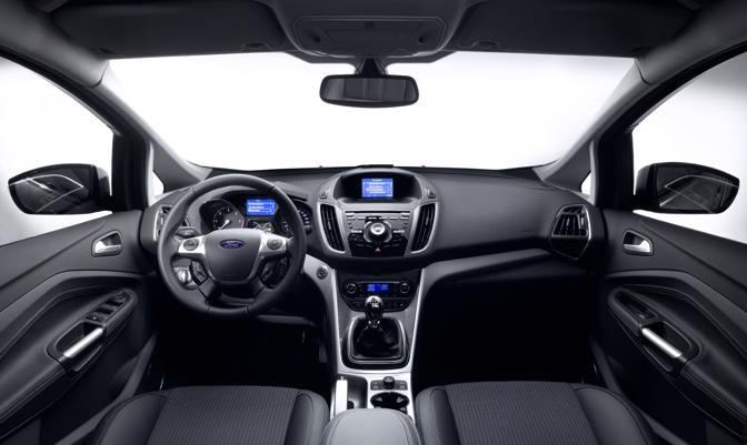 Ford c max a 5 e 7 posti for Interieur ford c max