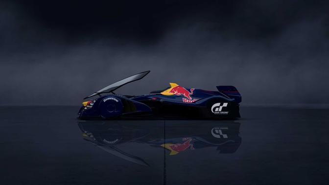 La Redbull X1 Prototype in Gt5