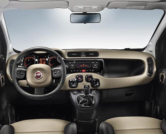La nuova Fiat Panda