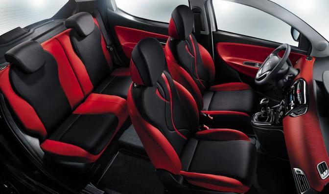 La Lancia Yipsilon «Black & Red»