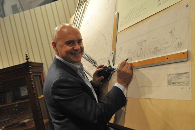L'attore Luca Zingaretti ha recitato i manoscritti originali di Corradino D'Ascanio