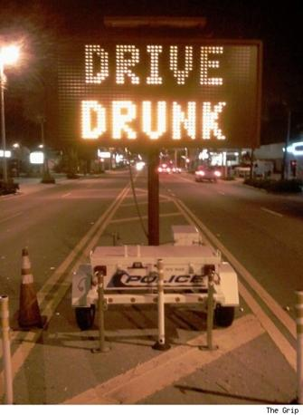 «Guida Ubriaco»  (internet)