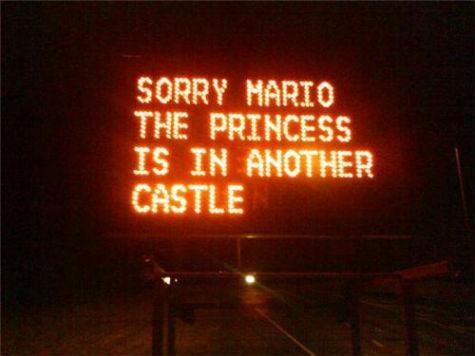 «Mi dispiace Mario, la principessa è in un altro castello»