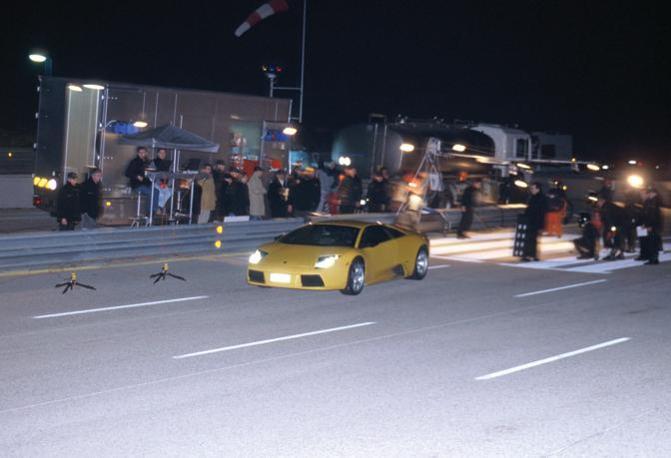 Nei primi anni 2000 la Lamborghini ha utilizzato il circuito di Nardò per mettere a punto la Gallardo. (Lamborghini)